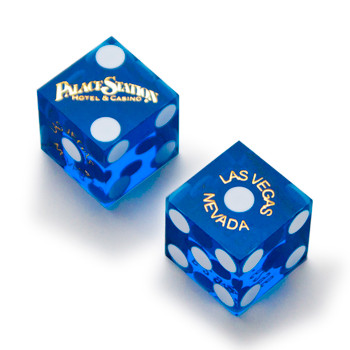 Pair (2) of 19mm  Dice Used at the Palace Station Casino