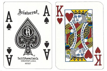 Single Deck Used in Casino Playing Cards - Fitz