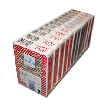 Single Deck Used in Casino Playing Cards - Western