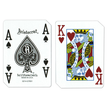 Single Deck Used in Casino Playing Cards - The Quad