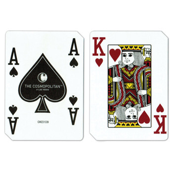 Single Deck Used in Casino Playing Cards - Cosmopolitan