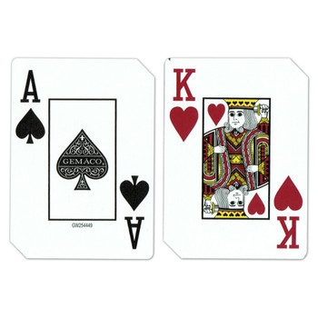 Single Deck Used in Casino Playing Cards - LVH