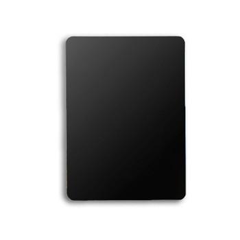 Set of 10 Black Plastic Poker Size Cut Cards