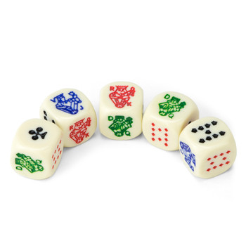 Poker Dice Pack - 5 Dice