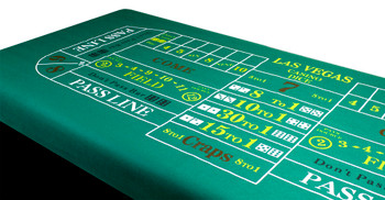 Craps Table Felt