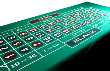 Green Roulette Felt