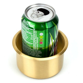 Jumbo Brass Drop-In Cup Holder