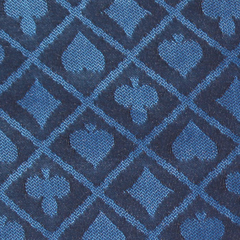 10' Section of Blue Two-Tone Poker Table Speed Cloth