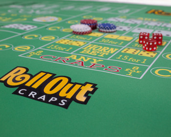 Rollout Gaming Craps Table Top