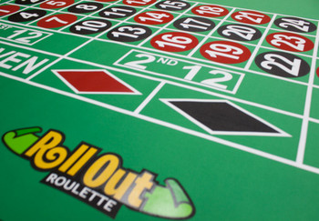 Rollout Gaming Roulette Table Top