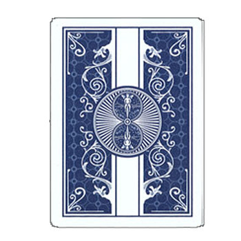 100% Plastic Bicycle Prestige Blue Poker Size Playing Cards