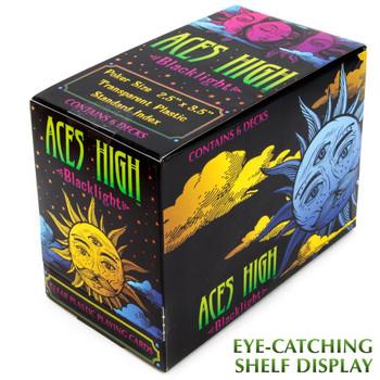 Aces High Blacklight, 6-Deck PDQ