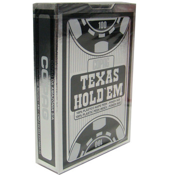12 Decks Hold Em Series Red/Black Peek Index Retail Box