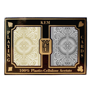 Kem Arrow Black/Gold Wide Jumbo