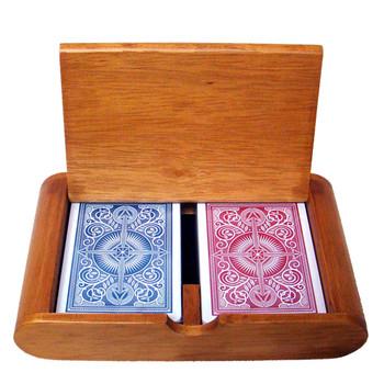 Wooden Box Set Arrow Red/Blue Wide Jumbo