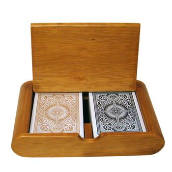 Wooden Box Set Arrow Black/Gold Wide Regular