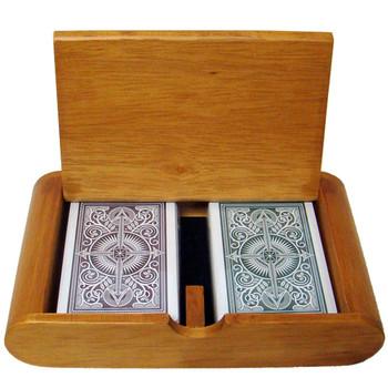 Wooden Box Set Arrow Green/Brown Narrow Regular