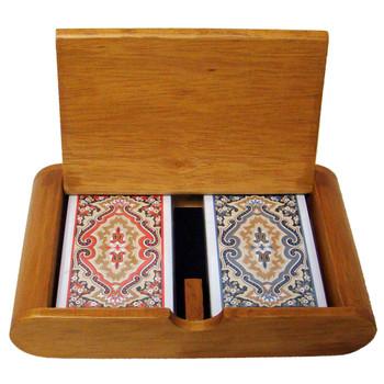 Wooden Box Set Paisley Narrow Regular