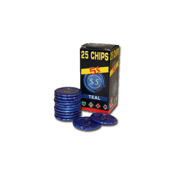 25 Pack of Modiano Composite Chips 4 gram - $5
