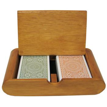 Modiano Club Bridge Green/Brown Jumbo Box Set