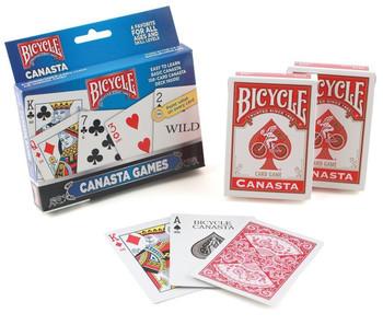 Bicycle Canasta Set, 6 Decks
