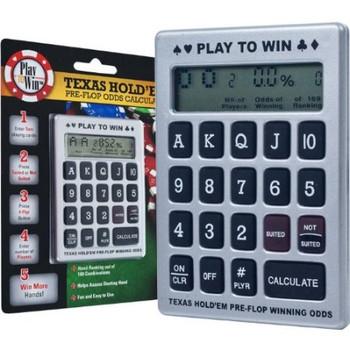 Texas Hold'Em Pre-Flop Odds Calculator
