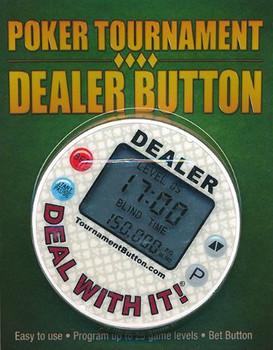 Poker Tournament Dealer Button
