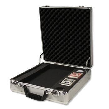 500 Ct Aluminum Claysmith Gaming Case