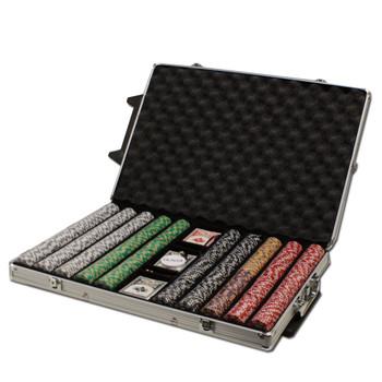 1,000Ct - Pre-Packaged - 2 Stripe Twist 8 G - Rolling Case