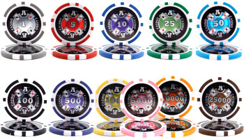 1,000 Ct - Custom Breakout - Ace Casino 14 Gram - Rolling