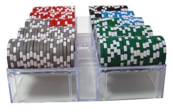 200 Ct - Custom Breakout - Ace Casino 14 Gram - Acrylic Tray