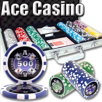 300 Ct - Pre-Packaged - Ace Casino 14 Gram - Aluminum