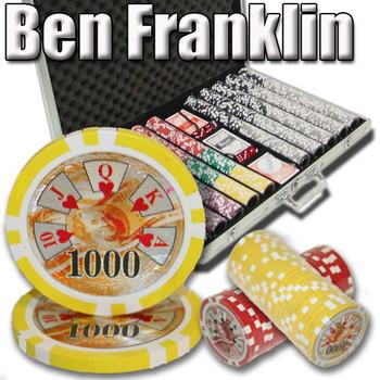 1,000 Ct - Custom Breakout - Ben Franklin 14 G - Aluminum