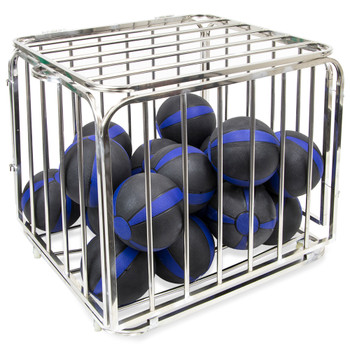 """Large Portable Ball Cage, 36"""" x 32"""" x 31"""""""