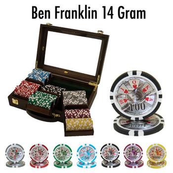 300 Ct - Custom Breakout - Ben Franklin 14 G - Walnut