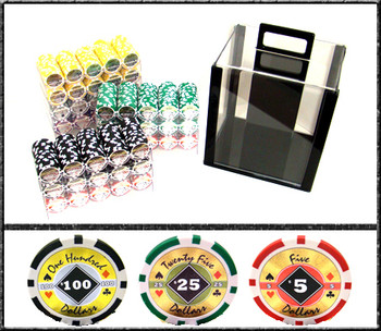 1000 Ct - Custom Breakout - Black Diamond 14 G - Acrylic