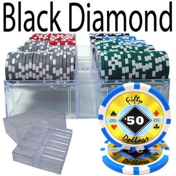 200 Ct - Custom Breakout - Black Diamond 14 G - Acrylic Tray