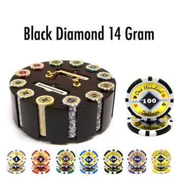 300 Ct - Pre-Packaged - Black Diamond 14 G - Wooden Carousel