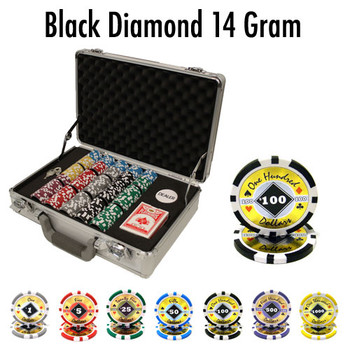 300 Ct - Custom Breakout - Black Diamond 14 G - Claysmith
