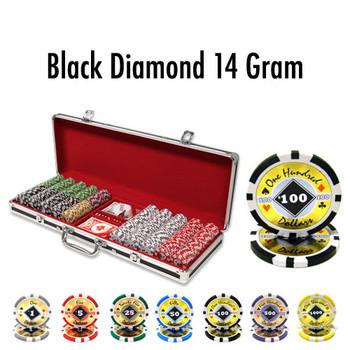 500 Ct - Custom - Black Diamond 14 G - Black Alumium