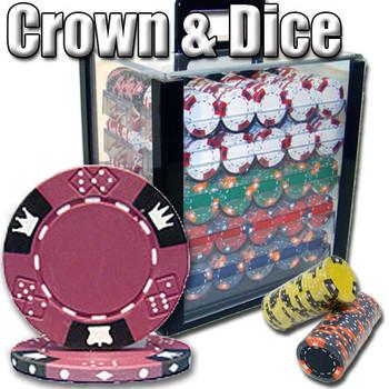 1,000 Ct - Custom Breakout - Crown & Dice - Acrylic