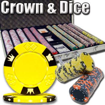1,000 Ct - Custom Breakout - Crown & Dice - Aluminum