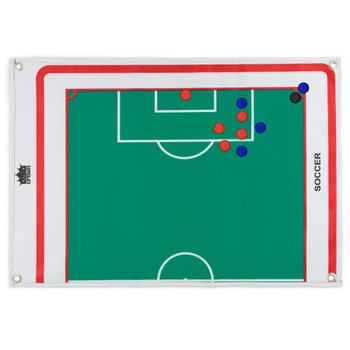 Magnetic Roll-up Clipboard, Soccer