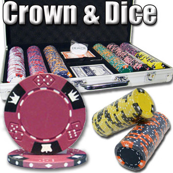 300 Ct - Custom Breakout - Crown & Dice - Aluminum