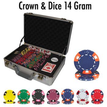 300 Ct - Custom Breakout - Crown & Dice - Claysmith