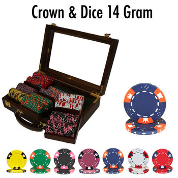 300 Ct - Custom Breakout - Crown & Dice - Walnut