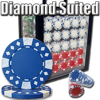 1,000 Ct - Pre-Packaged - Diamond Suited 12.5G - Acrylic