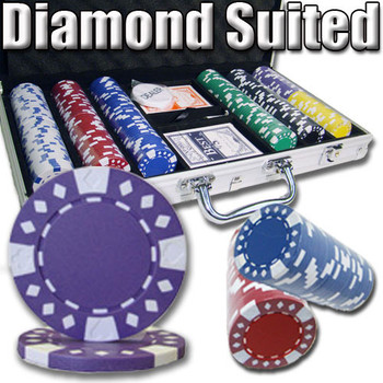 300 Ct - Custom Breakout - Diamond Suited 12.5 G - Aluminum