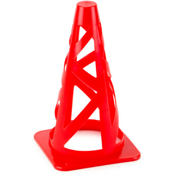 "Red 9"" Collapsible Sport Cones"