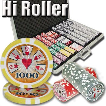 1,000 Ct - Custom Breakout - Hi Roller 14 G - Aluminum